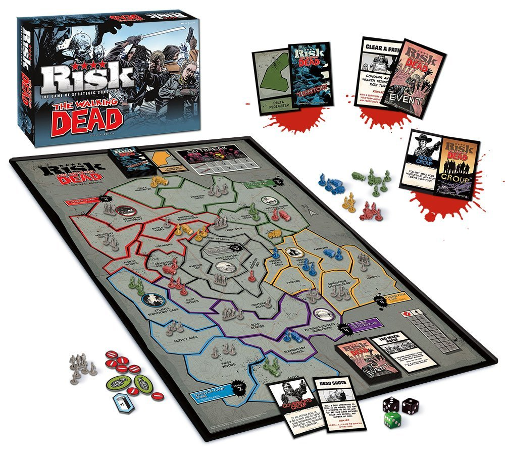 The Walking Dead Risk Comic Edition Board Game