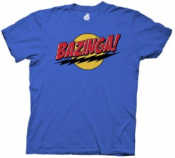 Bazinga Tee – The Big Bang Theory