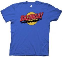 Bazinga Tee – The Big Bang Theory