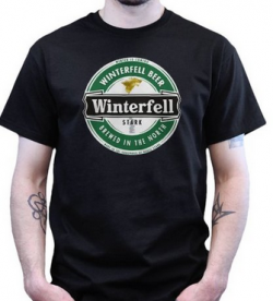 Winterfell Beer Game of Thrones T-shirt