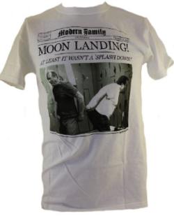 """Moon Landing"" Newspaper Style – Modern Family"