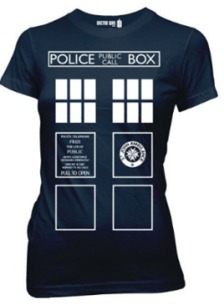 Tardis Juniors Tee – Doctor Who