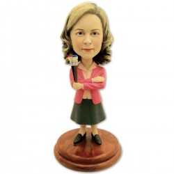 Pam Beesly Bobblehead – The Office