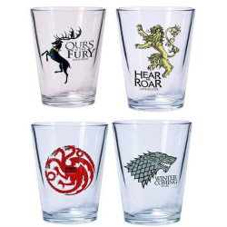 House Shot Glasses – Game Of Thrones