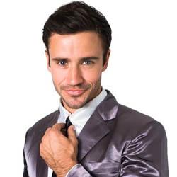 Grey Silk Suitjamas – How I Met Your Mother
