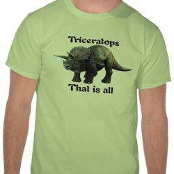 Triceratops…