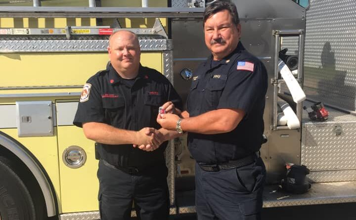 Two Fort Payne Firemen Get Promoted