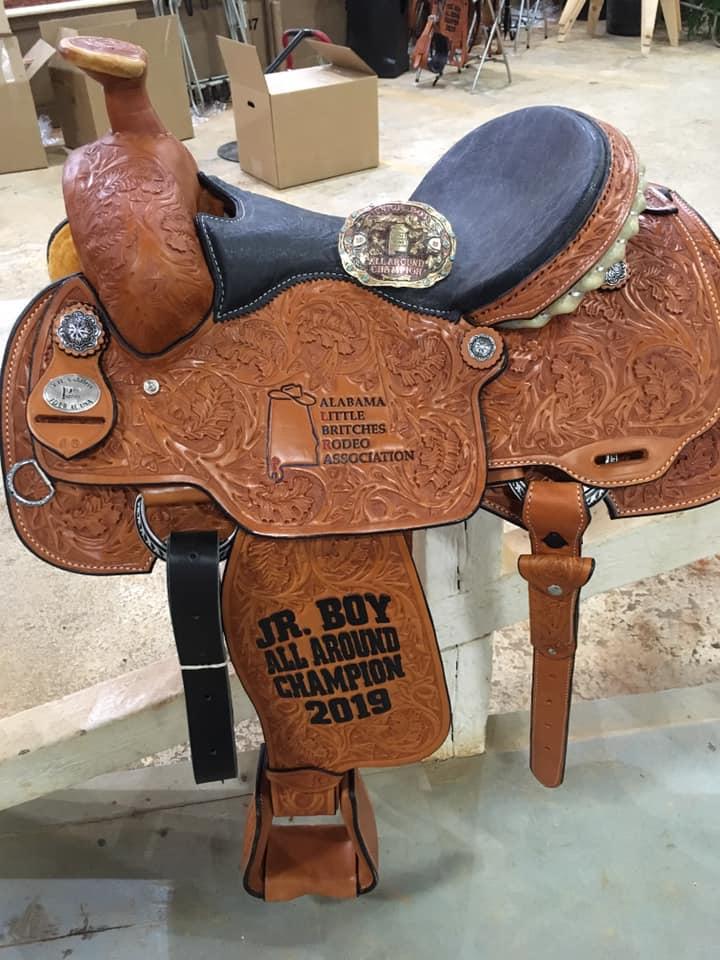Alabama Little Britches Rodeo Junior All Around Champion