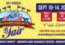Blount County Fair September 10th – 14th, 2019