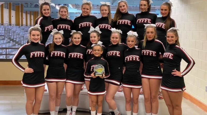 Fyffe High School Cheerleaders Take 1st in North Super Regionals