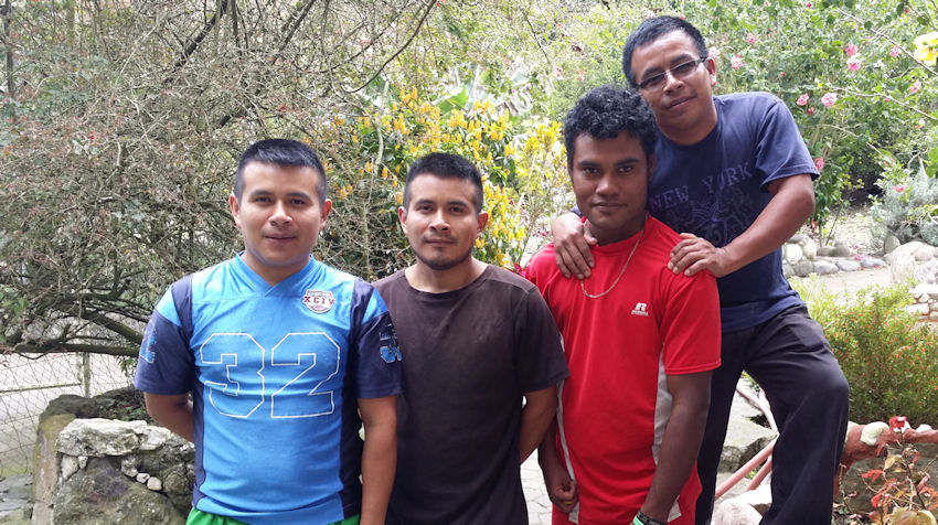 Young Men from Sweet Refuge