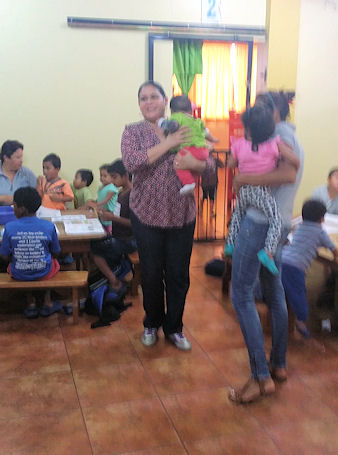 Mel's Wife at Casa de Fe orphanage