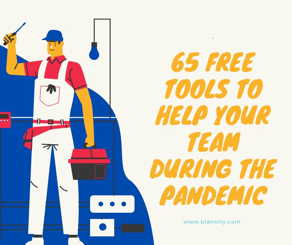 Free Tools help Coronavirus Pandemic