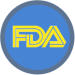 Regulatory Icon blue yellow
