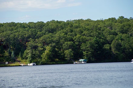 Lost Ring Webb Lake WI