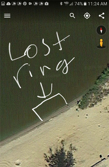 lost ring Lake Petenwell