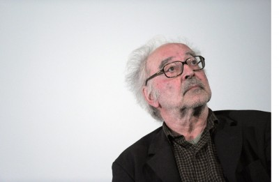 Swiss film director Jean-Luc Godard atte