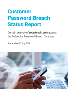 Customer Password Breach Report
