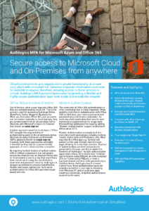 Azure & Office 365 Datasheet