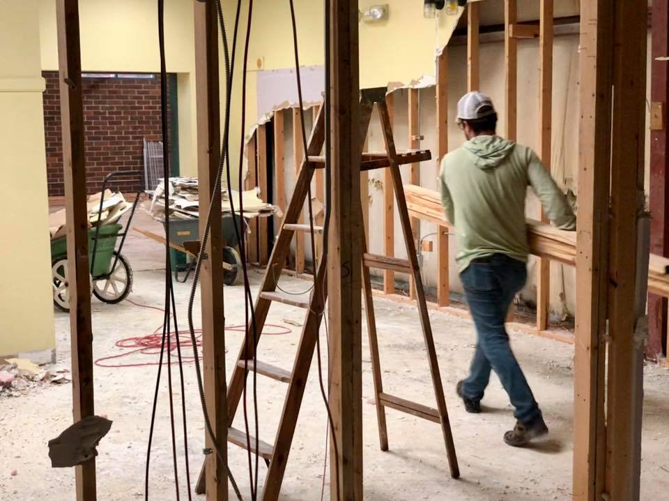 Renovation of Athentic Brewing Co. property