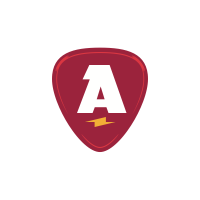 Athentic logo for stickers and magnets