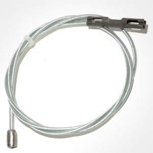 Intermediate emergency brake cable