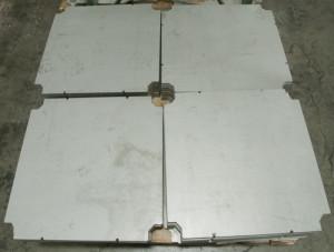 stainless steel plate waterjet cut