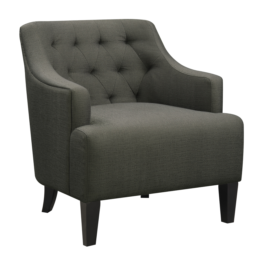 Accent Chair Charcoal