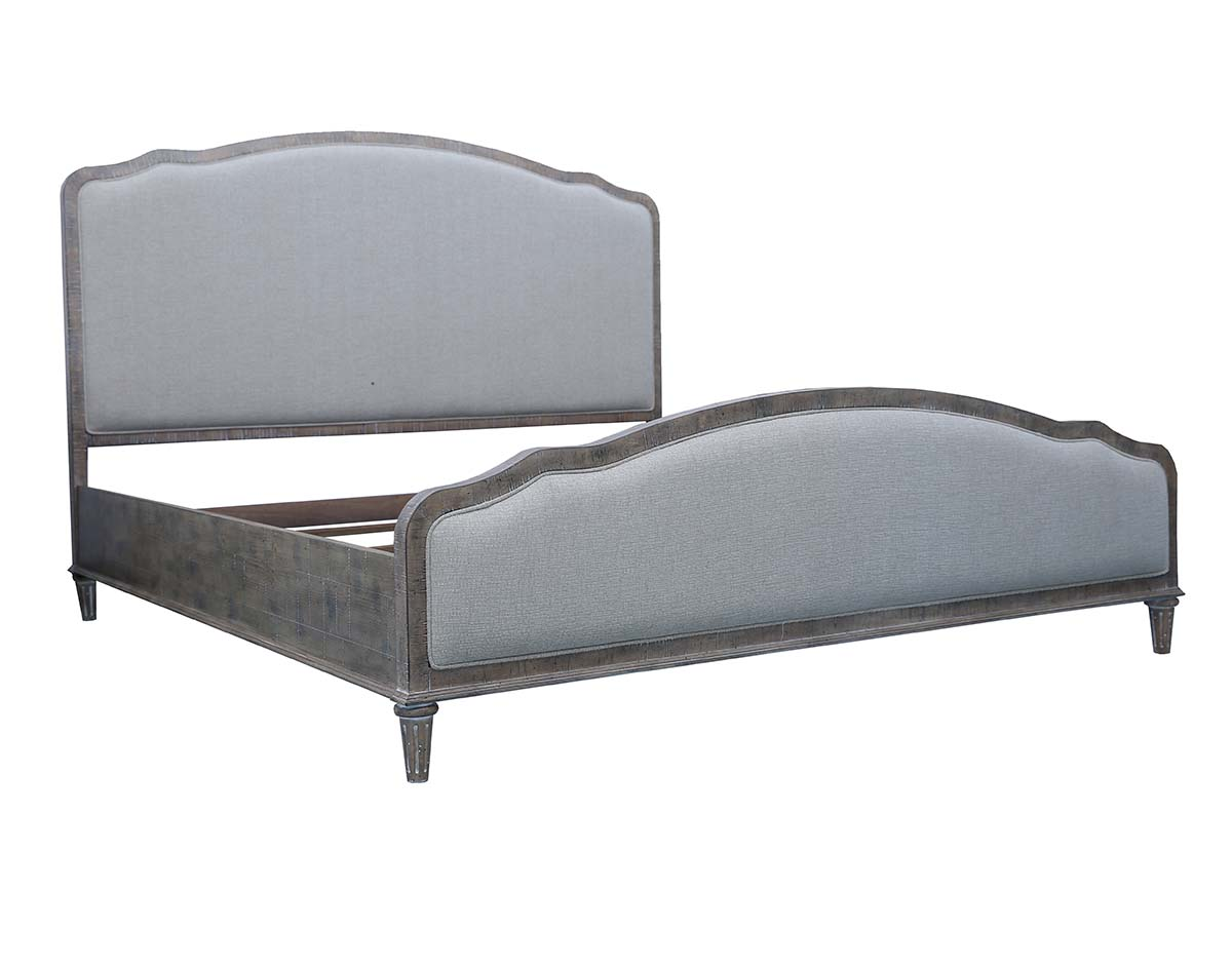 Bed Rounded Footboard
