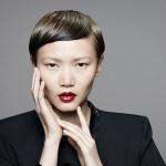 Photo Goldwell Asian Short hair red lip