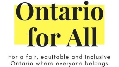Ontario for All Logo
