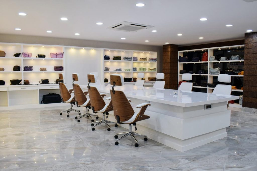 Bags exporter showroom - Dolphin Leathers