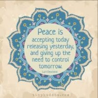 Release your need to control