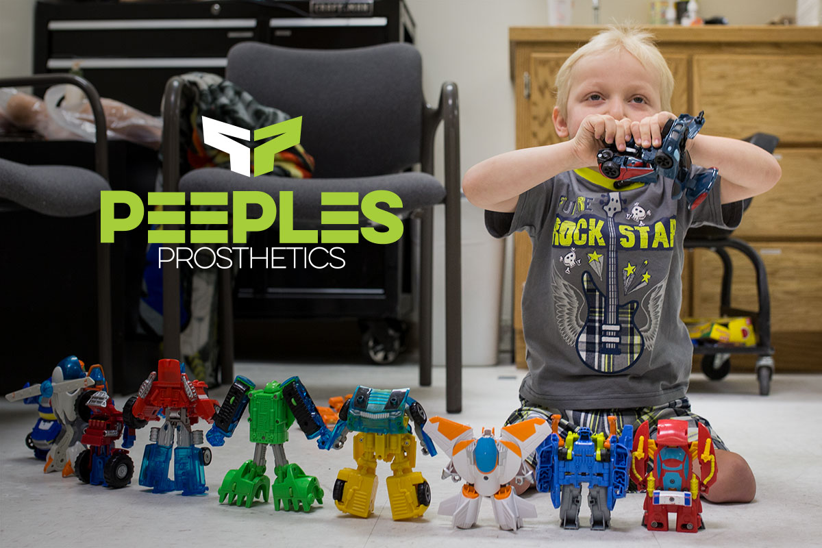Bear – Wichita's Own Transformer | Peeples Prosthetics, Wichita, KS