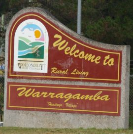 Used in about Warragamba