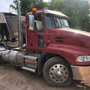 2015 Mac Truck With 2013 Midland SK2400 Dump