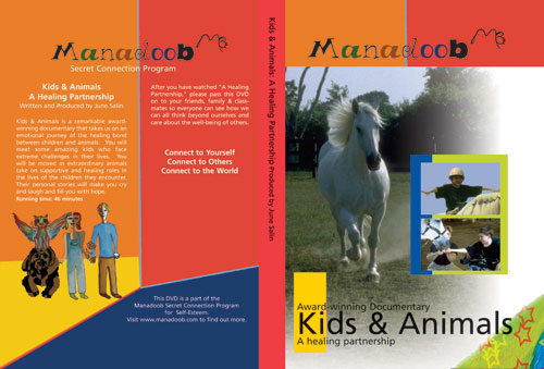 Kids and Animals DVD Image