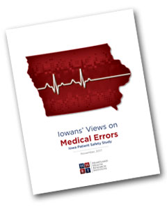 Iowans' Views on Medical Errors - 2017
