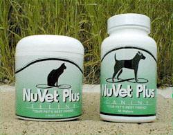 Nuvet Plus dog supplement