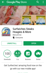 Surfwiches Steaks Hoagies & More