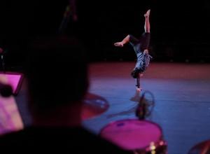 "Darin Kaai performs his solo during Act 1 of ""Live 5"" at the Paliku Theatre in Kaneohe, HI. (Photo: Cory Ida)"