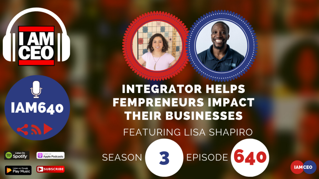 Check out my podcast interview on the I AM CEO podcast (@iamceopod) powered by @ceoblognation @blue16media #IAMCEO: Lisa Shapiro DCfempreneur Gresham Harkess