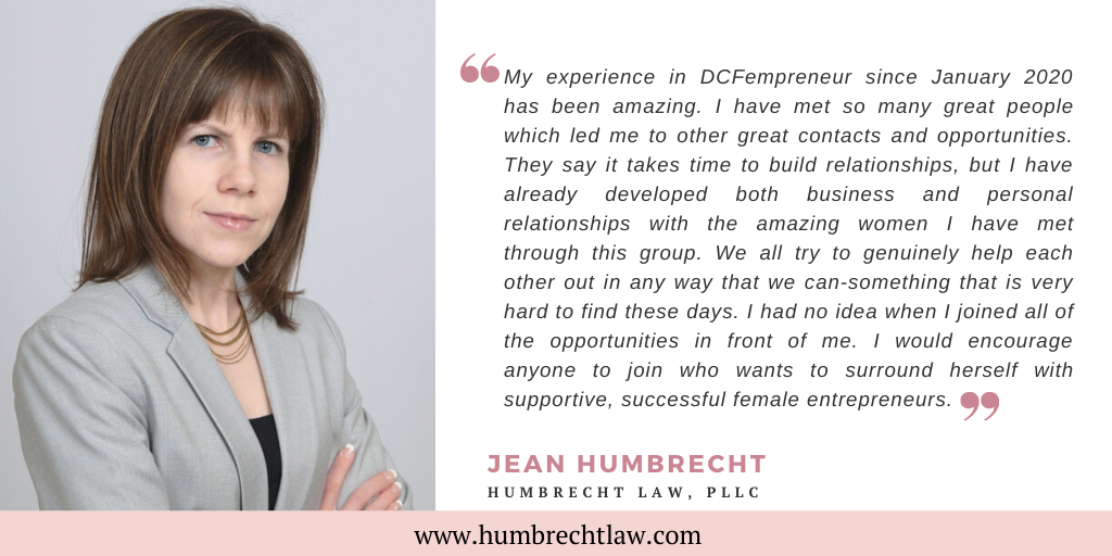 Jean Humbrecht Website Testimonial Quote Post
