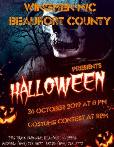 Beaufort County Wingmen Halloween Party @ Beaufort County Wingmen Clubhouse | Beaufort | South Carolina | United States