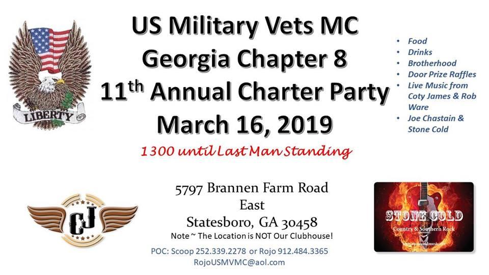 USMV MC GA 8 Chapter Party @ Statesboro | Georgia | United States