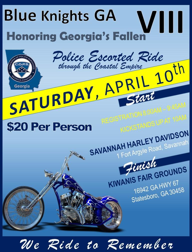 Blue Knights GA VIII @ Savannah Harley-Davidson | Savannah | Georgia | United States
