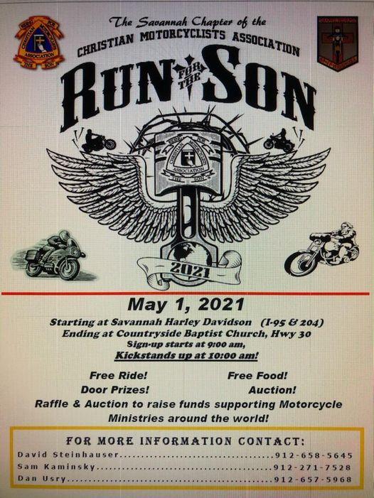 CMA - Run for the Son @ Savannah Harley-Davidson | Savannah | Georgia | United States