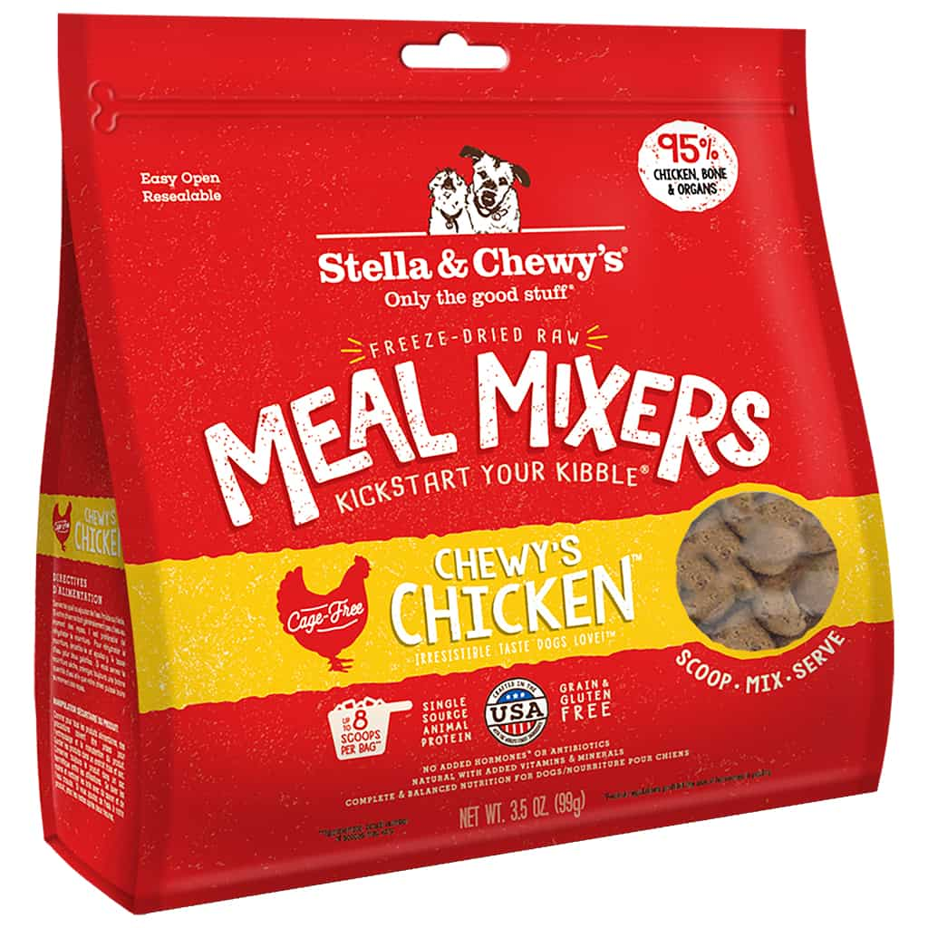 S&C Chicken Meal Mixer Freeze Dried 3.5Z