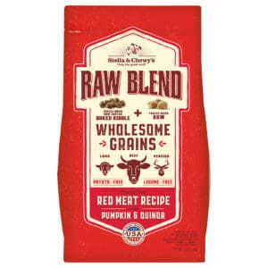 S&C Raw Blend with Grains Red Meat Recipe 3.5 lbs