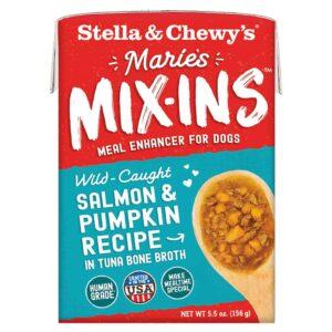 S&C Marie's Mix Ins - Wild Caught Salmon & Pumpkin Recipe